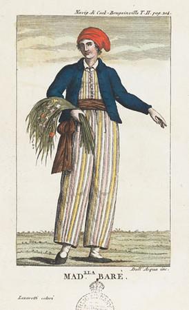 Jeanne Baret, as imagined in 1817