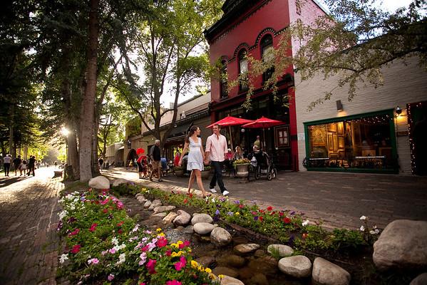 aspen charming town